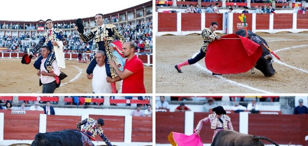Puerta grande al magisterio de Ponce y el compromiso de Emilio de Justo en Cáceres