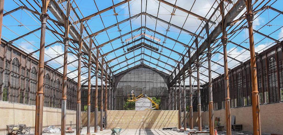 Las obras de rehabilitación del Edificio Metálico de Badajoz concluirán a finales de agosto