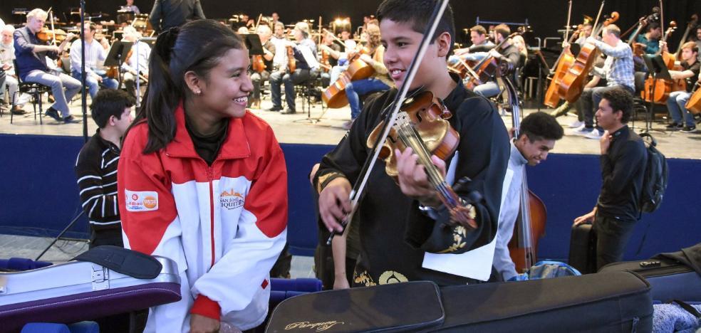 'El candil' también se toca en Bolivia