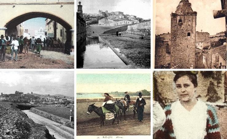 Locura de amor que descubre fotos antiguas de Cáceres