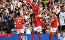 Un gran Rashford lleva a la victoria a Inglaterra frente a Costa Rica