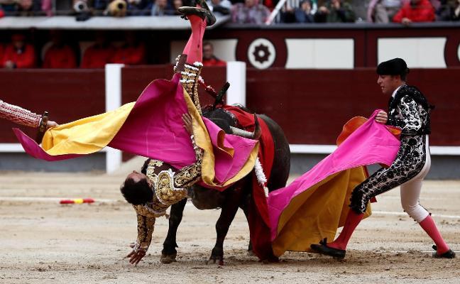 El Cid fue intervenido anoche de una cornada grave en el muslo derecho