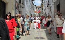 Hoy se celebra la procesión de la Octava en Jaraíz de la Vera
