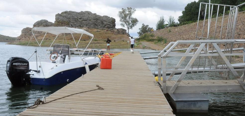 El pantano de Alange cuenta con todos los permisos para ser hidropuerto