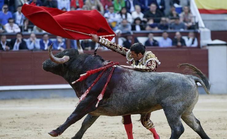 Emilio de Justo, ovacionado en Las Ventas