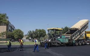 La Cívica pide un asfaltado adecuado para todas las calles de Badajoz
