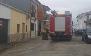 Incendio en una casa de Talayuela