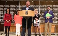 La Junta manda cartas con peticiones a cuatro ministerios