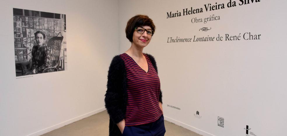 El Meiac muestra los grabados de la pintora portuguesa Vieira da Silva