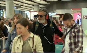 Francisco vuelve a España 'tocado'