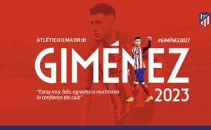 El Atlético renueva a Giménez