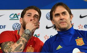 Mensaje de unidad de Sergio Ramos tras la destitución de Lopetegui: «Ayer, hoy y mañana, juntos»