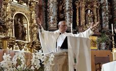 Celebración de las bodas de oro del párroco de Logrosán