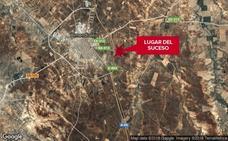 Una mujer de 41 años resulta herida en un accidente en Almendralejo, en el cruce de la A-66 con la BA-013