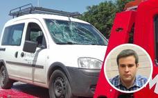 El diputado de Podemos Daniel Hierro resulta herido tras ser atropellado en Almendralejo