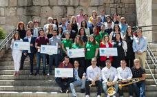 Los alumnos de Expertemprende quieren hacer realidad sus proyectos en Extremadura
