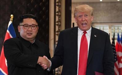 Trump minimiza los abusos cometidos por el régimen de Kim Jong Un