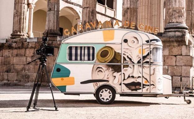 Una caravana buscará este verano localizaciones de cine en Extremadura
