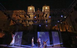 La obra 'Eco y Narciso' abrió ayer el festival