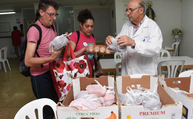 Roban la furgoneta del comedor social de San Vicente de Paúl