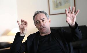 Ferran Adrià habla de cocina y arte en el Capitol