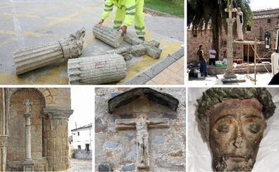 El enfado del diablo en Cáceres y los Cristos decapitados