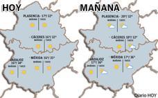 El fin de semana llega a Extremadura con más calor