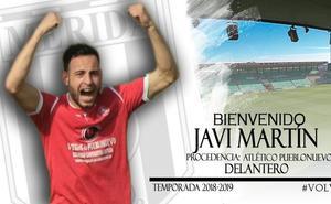 Llega Javi Martín y deja de llegar Óscar Fernández