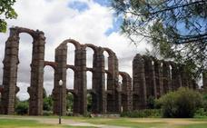 El acueducto de los Milagros de Mérida acoge el festival Gastrosensaciones