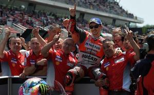 Lorenzo busca la segunda victoria consecutiva con Ducati