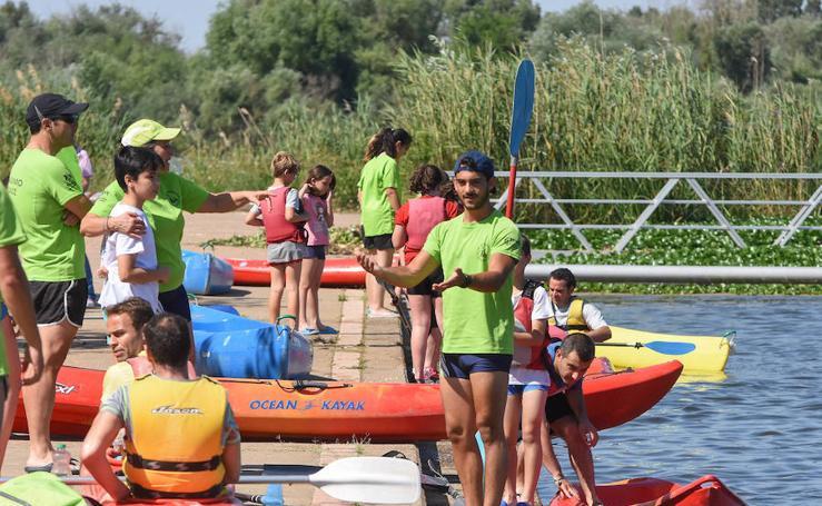 El Club de Piragüismo de Badajoz celebra su jornada de puertas abiertas