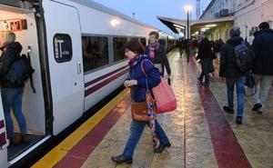 El tren Talgo eleva un 15 por ciento los viajeros de la línea Badajoz-Madrid