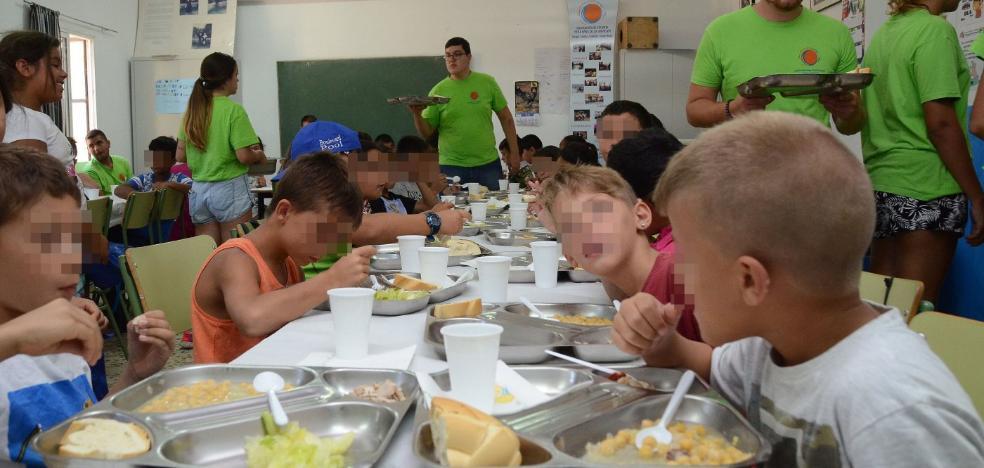 Cuatro comedores atenderán a 160 niños en riesgo de exclusión en verano