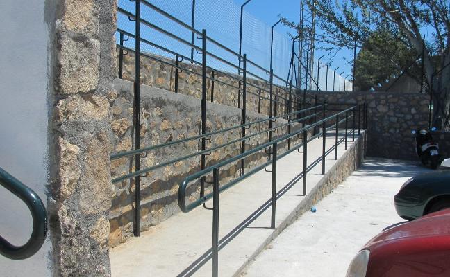 El polideportivo de Jaraíz de la Vera ya es accesible