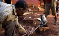 Educación para los niños desplazados en Bangassou