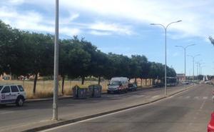 Fallece un motorista de 31 años en un accidente en Cáceres