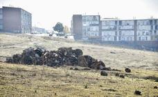 Denuncian la fuga de aguas fecales en Los Colorines de Badajoz