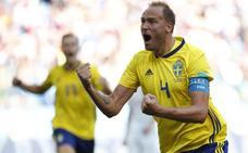 Directo: Suecia se adelanta de penalti vía VAR