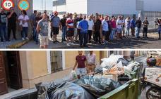 La huelga apenas afecta a la recogida de basuras, pero sí a la limpieza de las calles