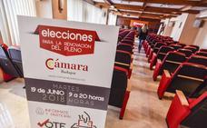 Escasa participación en las elecciones de la Cámara de Comercio de Badajoz hasta mediodía