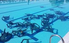 Vandalismo en la piscina municipal de Plasencia
