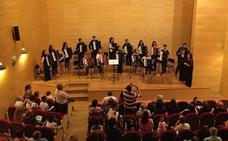 Clausura del curso en el Conservatorio de Música de Don Benito