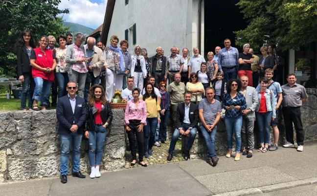 Malpartida de Cáceres participa en la reunión de la Red de Pueblos Europeos de la Cigüeña