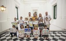 Entregados los premios de dibujos de San Jorge