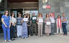 Letrados de Justicia exigen en Cáceres mejoras técnicas y aumentos salariales
