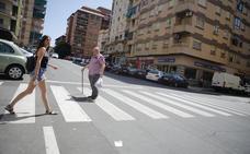 Dos mujeres heridas en un atropello en el centro de Cáceres
