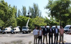 Mérida incorpora nueva maquinaria de limpieza y mantenimiento