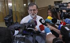 Rajoy retoma la actividad laboral sin pronunciarse sobre sus posibles sucesores