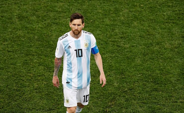 Argentina-Croacia, en imágenes