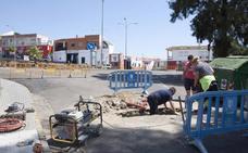 Trabajan para reparar los semáforos de Felipe VI en Mérida